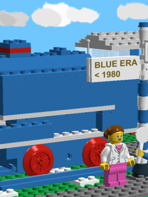 Blue Era Trains